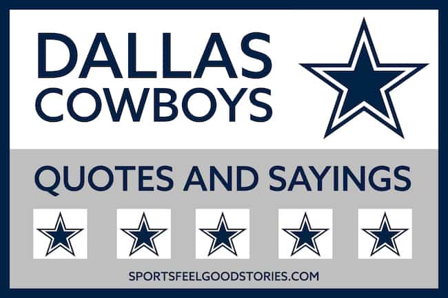Dallas Cowboys quotes and sayings image