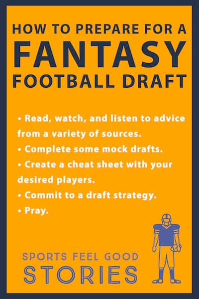 How to prepare for a fantasy football draft image
