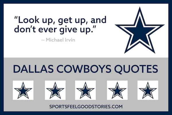 Michael Irvin quote on getting up image