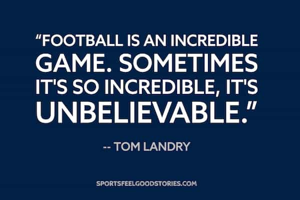 Tom Landry quote image
