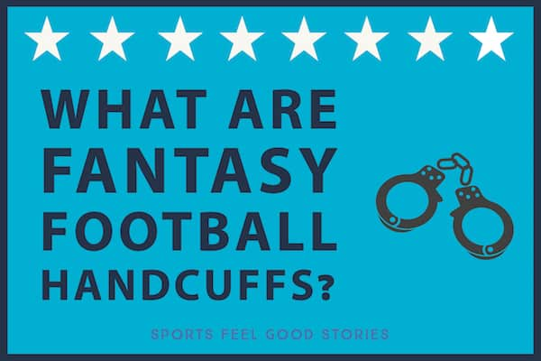 What are fantasy football handcuffs image