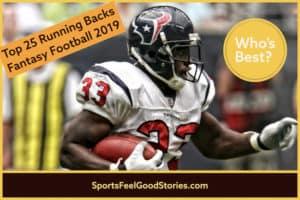 25 Best Running Backs Fantasy Football 2019 image