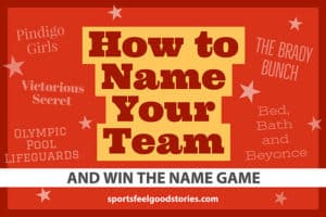 Naming your team and winning the game image