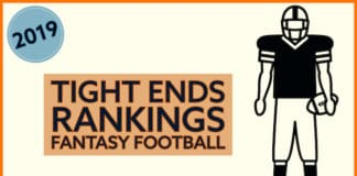 Tight ends rankings for fantasy 2019 image