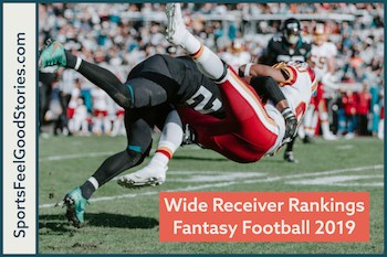 Wide Receiver Rankings 2019 image