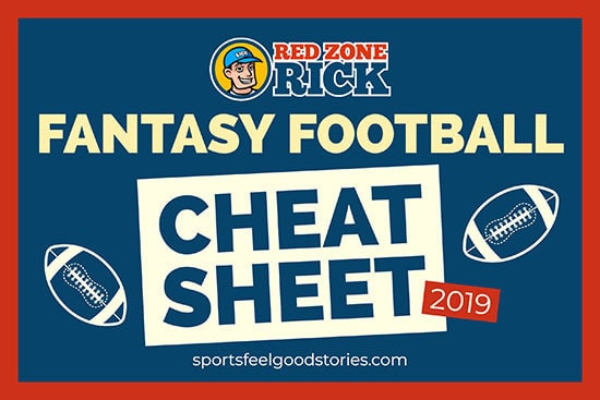 fantasy football cheat sheet 2019 image