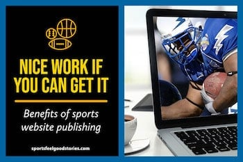 Benefits of Sports Publishing button image