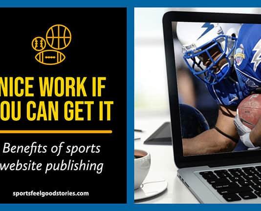 Benefits of Sports Publishing image