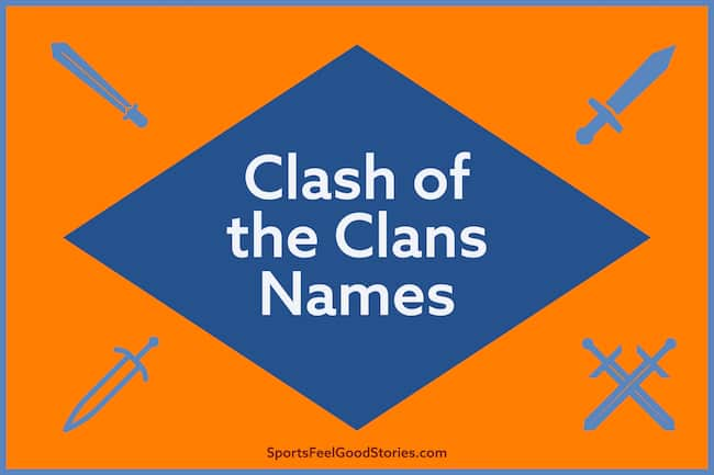 Clash of the Clans names image