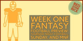 Fantasy Football Week One Preview image
