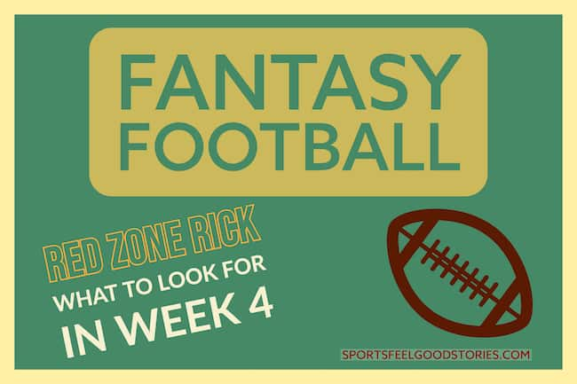 Fantasy football week 4 image