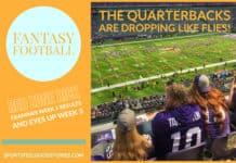 Week 2 fantasy football analysis 2019 image
