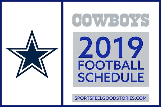 Cowboys Schedule 2019 image