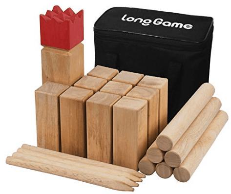 Kubb lawn game image