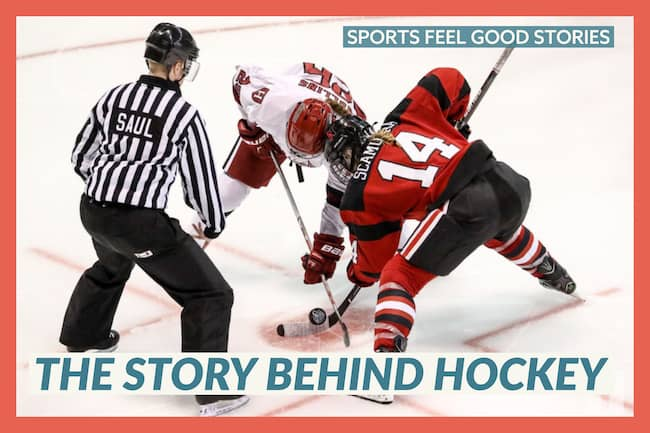 The story behind hockey image