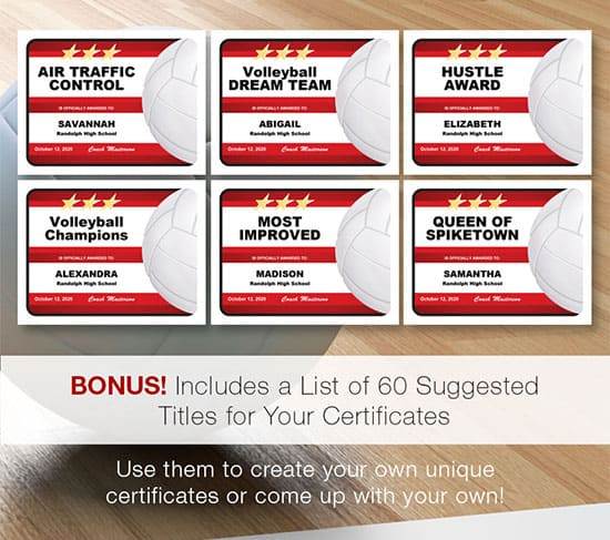 create you own title certificates image