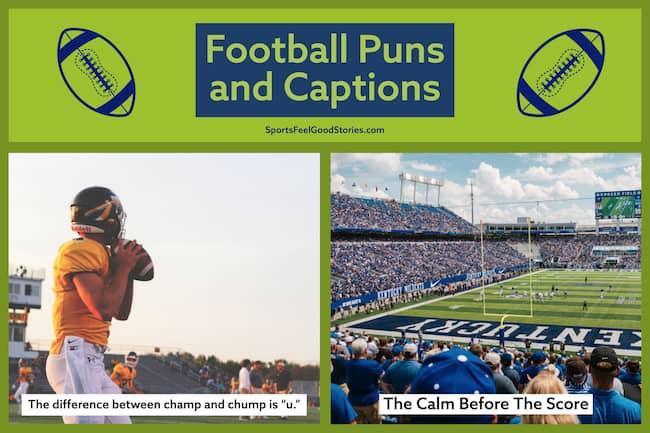 Funny Football captions image