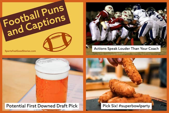 Football puns image