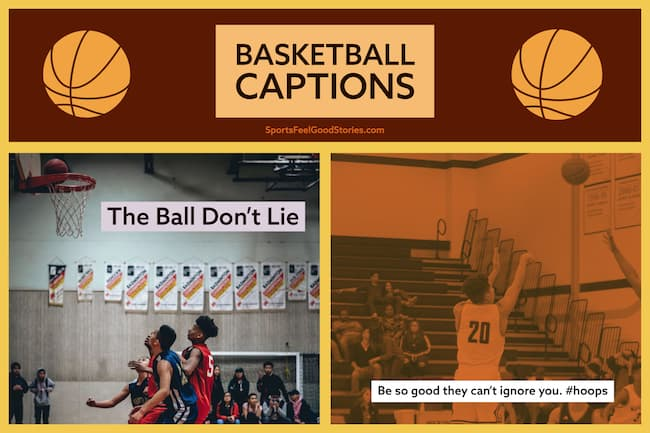 Instagram captions for hoops image