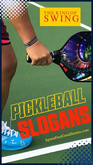 Good pickleball puns and captions image