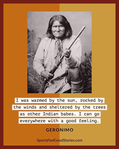Geronimo Quote meme
