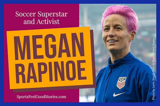 Get to know Megan Rapinoe image