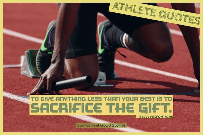 Good Athlete quotes image