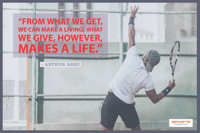 Arthur Ashe quote image