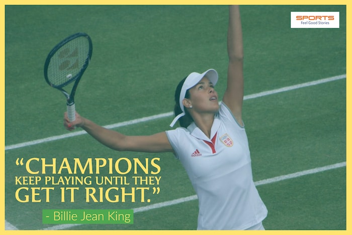 Billie Jean King - Inspirational Sports Quotes image