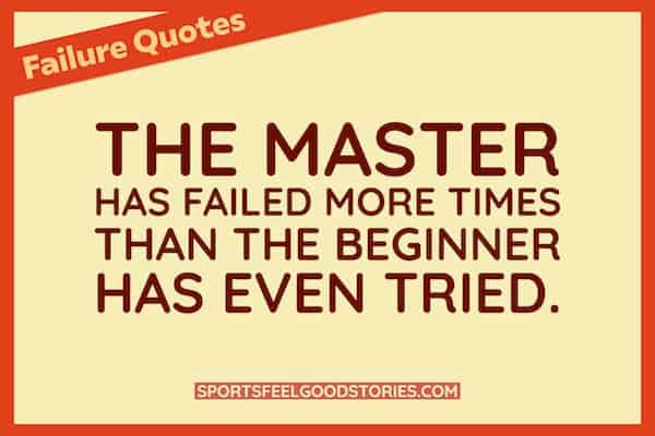 Good failure quotes image