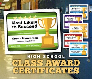 HS Class Awards product image
