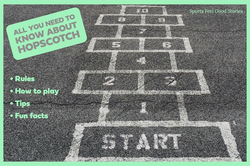 Hopscotch rules and fun facts image