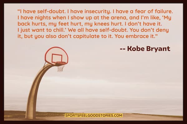Kobe Bryant on fear of failure image