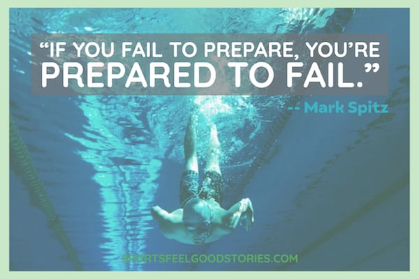 Mark Spitz on failing to prepare quote meme