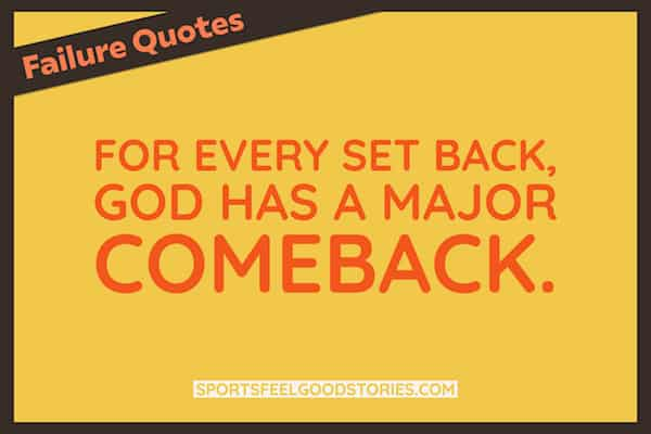 Set back to comeback quote image