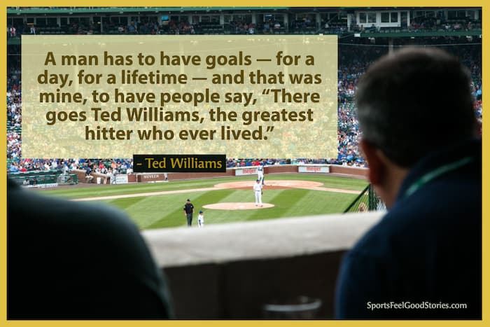 Ted Williams quote image