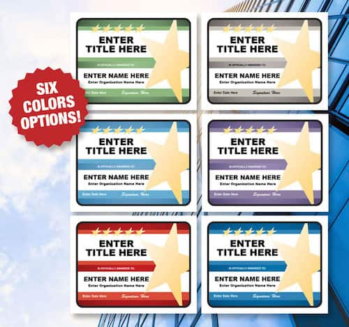 color options for templates image