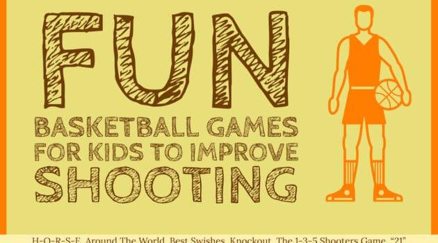Fun basketball games for shooting image