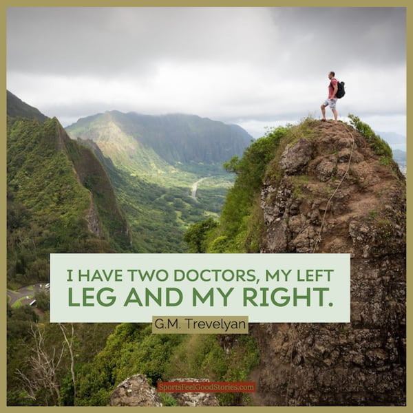 Best hiking quotes image