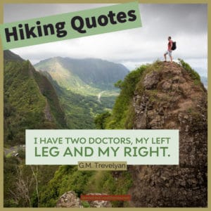 Good Hiking Quotes image