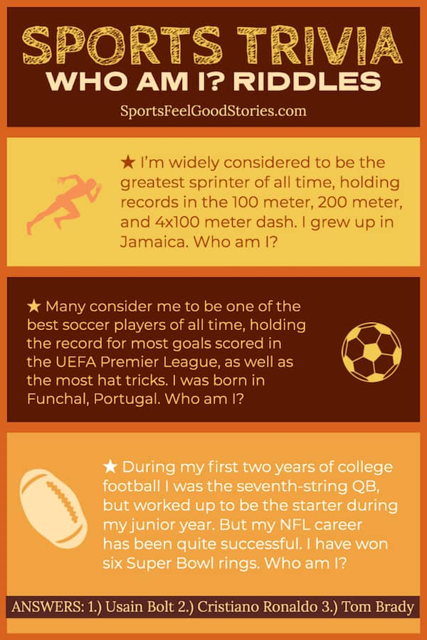 Questions and Answers about Sports