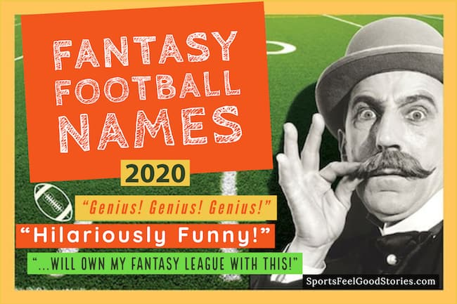 Best Fantasy Football Team Names 2020