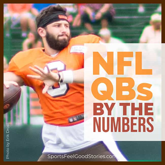 NFL QBs by the numbers meme