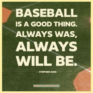 National pastime - baseball sayings