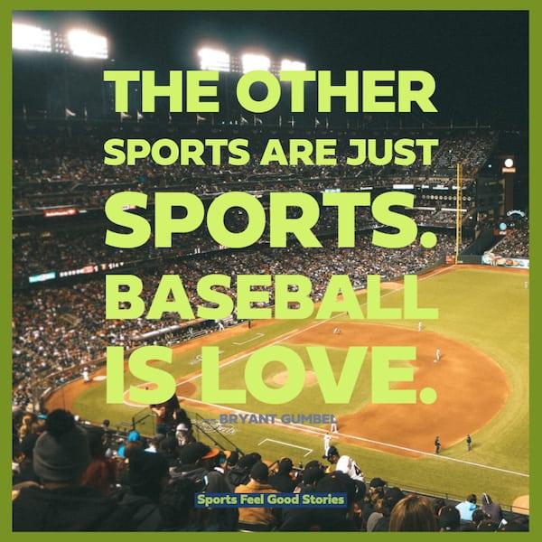 Baseball is love