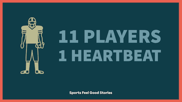11 players, one heartbeat image