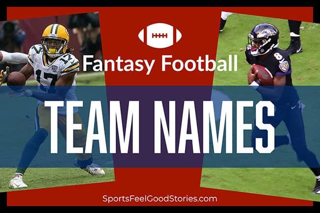 2020 Fantasy Football Team Names