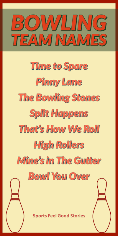 Bowling Team Names To Strike Your Fancy