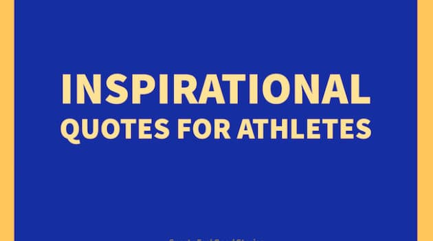 Inspirational quotes for athletes