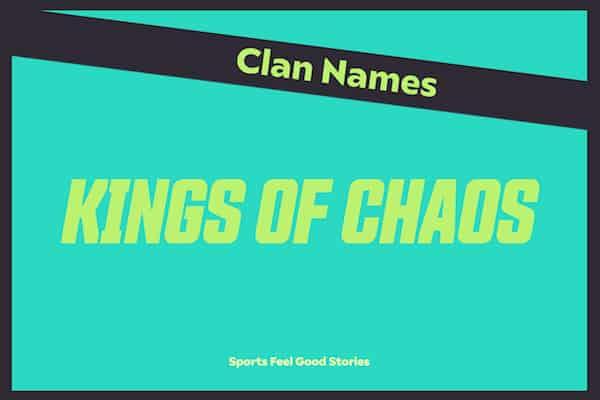 Kings of Chaos - Clan Names